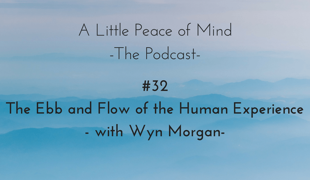 Episode 33 – The Ebb and Flow of the Human Experience – with Wyn Morgan