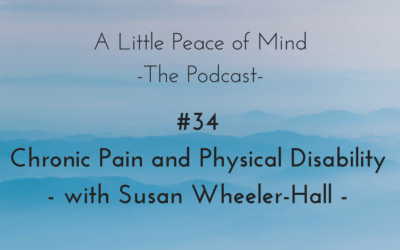 Episode 34 – Chronic Pain and Physical Disability – with Susan Wheeler-Hall