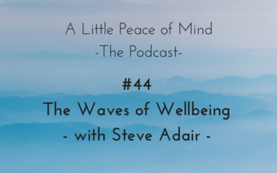 Episode 44 – The Waves of Wellbeing with Steve Adair