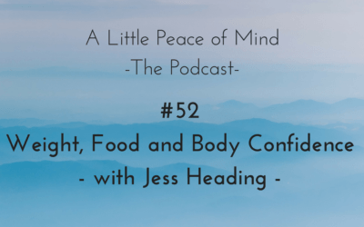 Episode 52: Weight, Food and Body Confidence – with Jess Heading