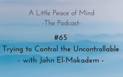 Episode 65 – Trying to Control the Uncontrollable – with John El-Mokadem