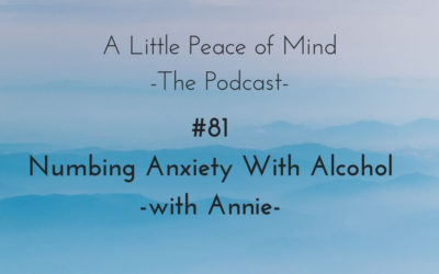 Episode 81: Numbing Anxiety with Alcohol with Annie