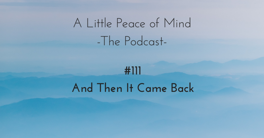 Podcast_111_And_then_it_came_back